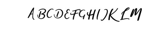 magic.ttf Font UPPERCASE