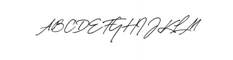 matsury.otf Font UPPERCASE