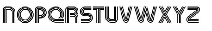 Macrame Three Font UPPERCASE