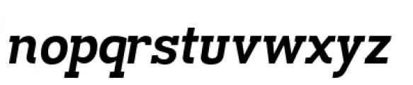 Madawaska Bold Italic Font LOWERCASE