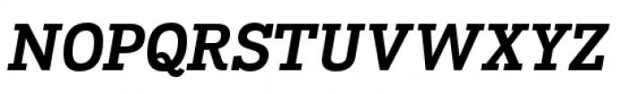 Madawaska Bold Short Caps Italic Font UPPERCASE