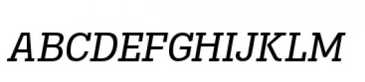 Madawaska Book Short Caps Italic Font LOWERCASE