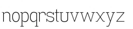 Madawaska Extra Light Font LOWERCASE