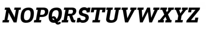 Madawaska Heavy Italic Font UPPERCASE