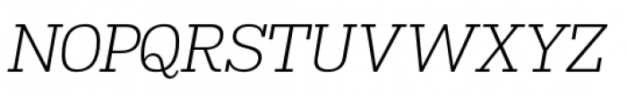 Madawaska Light Italic Font UPPERCASE