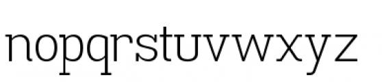 Madawaska Light Font LOWERCASE