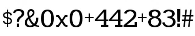 Madawaska Regular Font OTHER CHARS