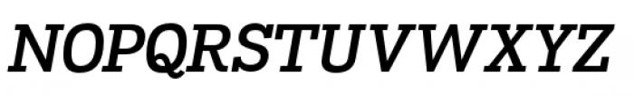 Madawaska Semi Bold Italic Font UPPERCASE
