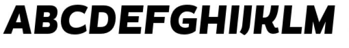Magallanes Condensed Black italic Font UPPERCASE