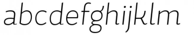 Magallanes Condensed Extra Light italic Font LOWERCASE