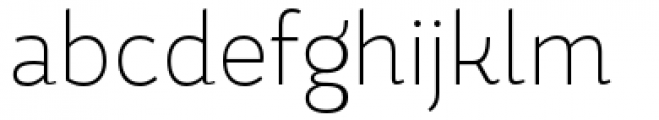 Magallanes Condensed Extra Light Font LOWERCASE