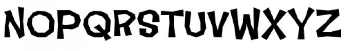 Makeshift Bold Font UPPERCASE