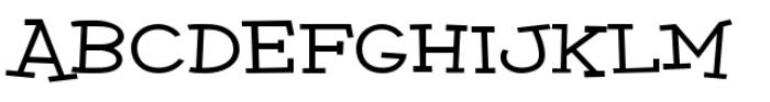 Malihini Cuban BTN Expanded Bold Font UPPERCASE
