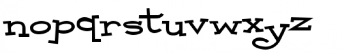 Malihini Cuban BTN Expanded Bold Font LOWERCASE