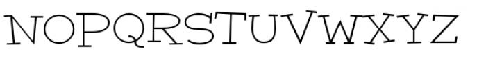 Malihini Cuban BTN Expanded Light Font UPPERCASE
