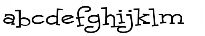 Malihini Cuban BTN Expanded Font LOWERCASE