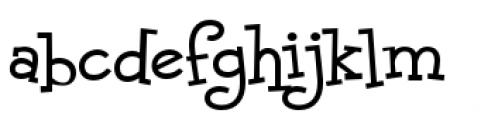 Malihini Cuban BTN Regular Font LOWERCASE