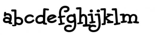 Malihini Tahitian BTN Bold Font LOWERCASE