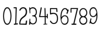 Malihini Tahitian BTN Condensed Light Font OTHER CHARS