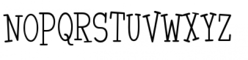 Malihini Tahitian BTN Condensed Light Font UPPERCASE