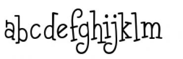 Malihini Tahitian BTN Condensed Light Font LOWERCASE