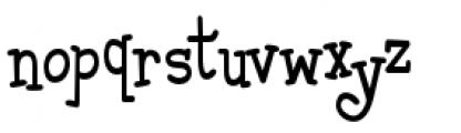 Malihini Tahitian BTN Condensed Font LOWERCASE