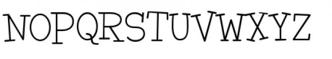 Malihini Tahitian BTN Light Font UPPERCASE