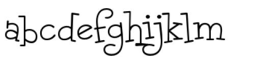 Malihini Tahitian BTN Light Font LOWERCASE