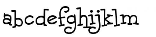 Malihini Tahitian BTN Regular Font LOWERCASE