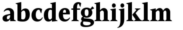 Mandrel Condensed Black Font LOWERCASE