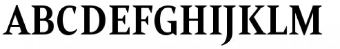 Mandrel Condensed Bold Font UPPERCASE
