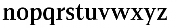 Mandrel Condensed Demi Font LOWERCASE