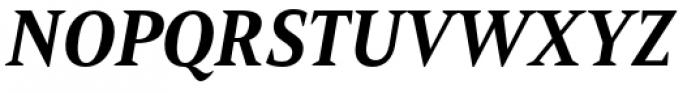 Mandrel Condensed ExBold Italic Font UPPERCASE