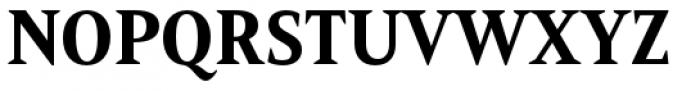 Mandrel Condensed ExBold Font UPPERCASE