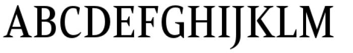 Mandrel Condensed Medium Font UPPERCASE