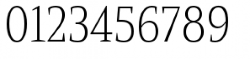 Mandrel Condensed Thin Font OTHER CHARS