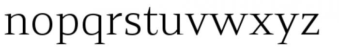 Mandrel Extended Book Font LOWERCASE