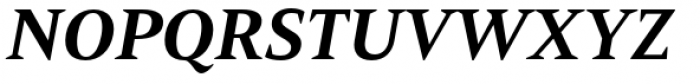 Mandrel Extended ExBold Italic Font UPPERCASE