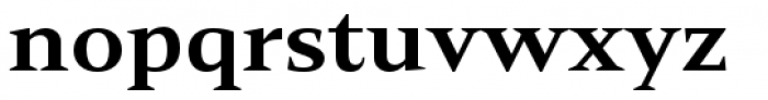 Mandrel Extended ExBold Font LOWERCASE