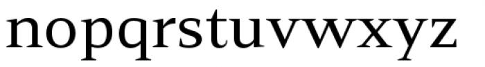 Mandrel Extended Medium Font LOWERCASE