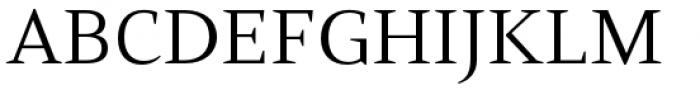 Mandrel Extended Regular Font UPPERCASE
