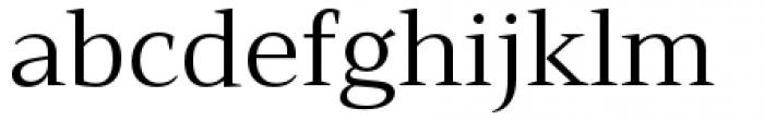 Mandrel Extended Regular Font LOWERCASE