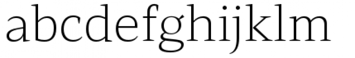 Mandrel Extended Thin Font LOWERCASE