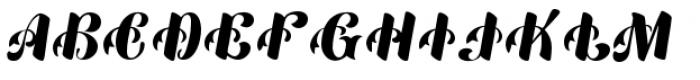 Mardi Gras Improved Font UPPERCASE