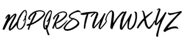 Matchstick Regular Font UPPERCASE