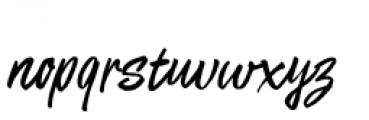 Matchstick Regular Font LOWERCASE