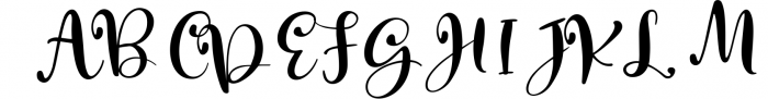 Macbarel Font UPPERCASE
