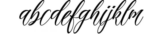 Madania Beautiful Script Font LOWERCASE