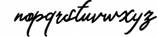 Magdalena | Beauty Script Handwritten Font LOWERCASE