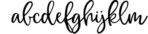 Magic Winter script font duo & logos 1 Font LOWERCASE